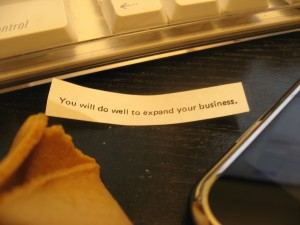 You will do well to expand your business.