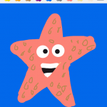 DrawSomethingStarfish